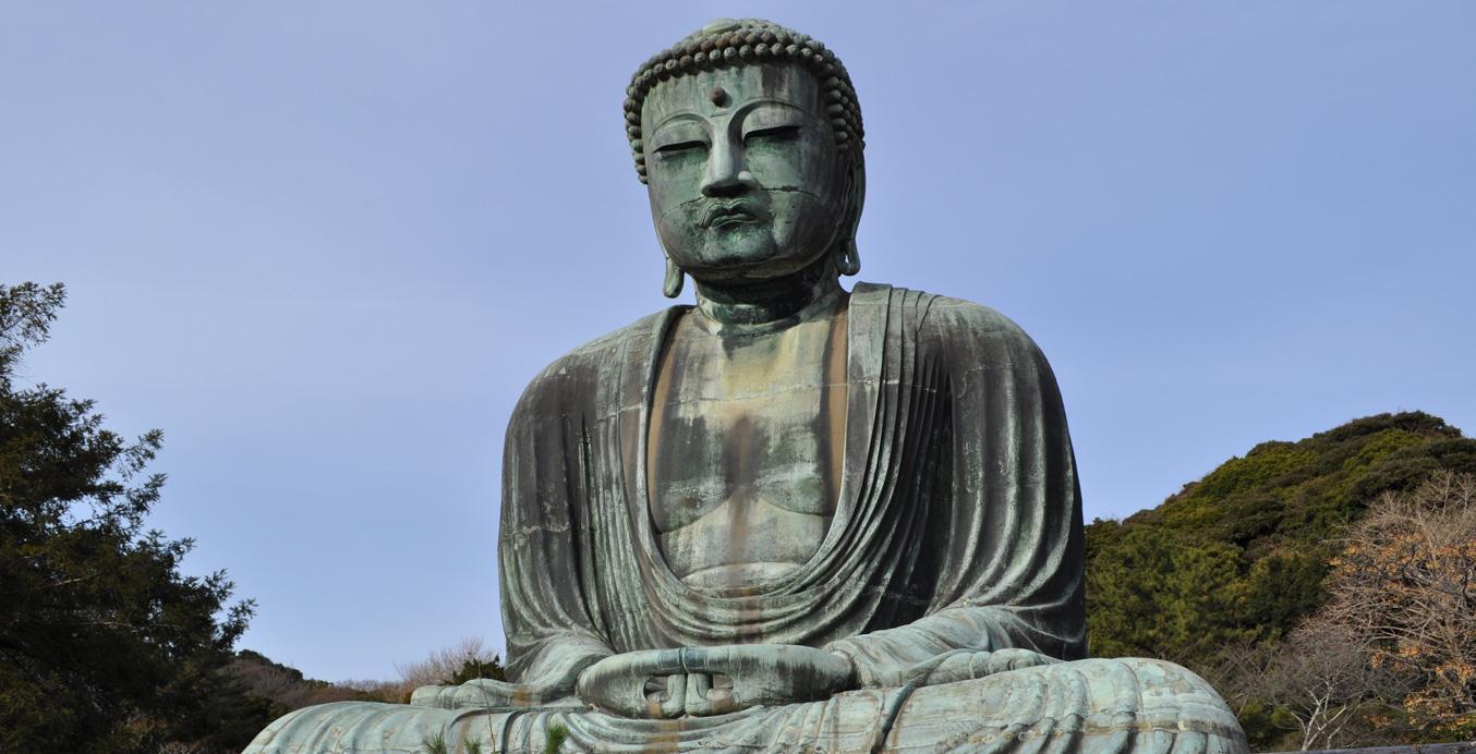grosse Buddah Statue